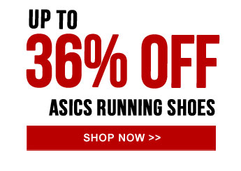 Up to 36% off Asics Running Shoes