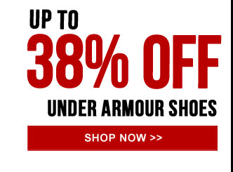 Up to 38% off Under Armour Running Shoes