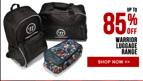 Up to 85% off Warrior Luggage Range
