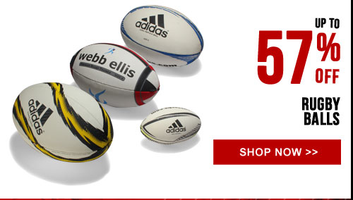 Up to 57% off Rugby Balls