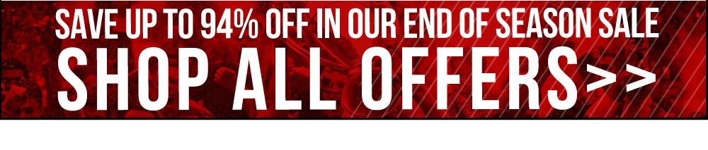 Save up to 94% in our End of Season Sale - SHOP ALL OFFERS