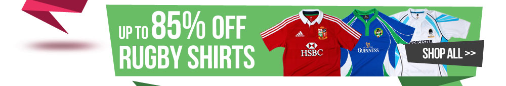 Upto 78% Off Rugby Shirts