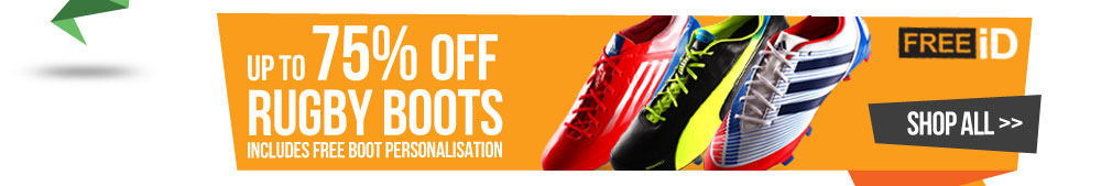 Upto 85% Off Rugby Boots