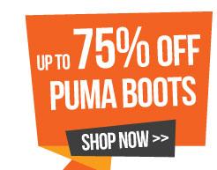 Upto 76% Off Puma Boots