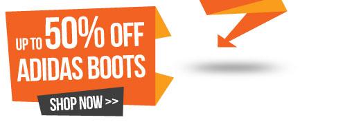 Upto 50% Off adidas Boots