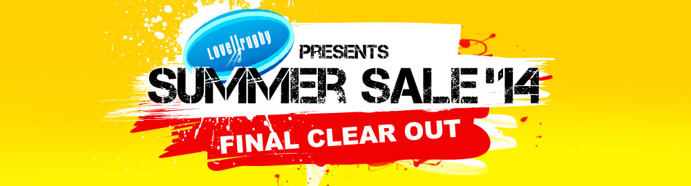 Lovell Rugby presents SUMMER SALE '14: Top Brands Reduced to Clear