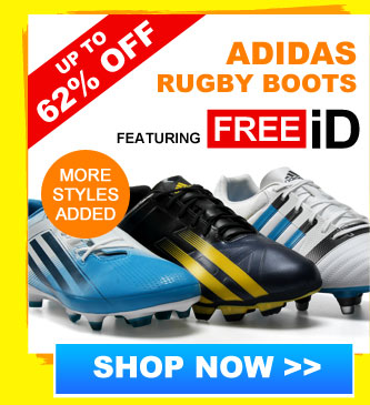 Up to 60% off Adidas rugby boots