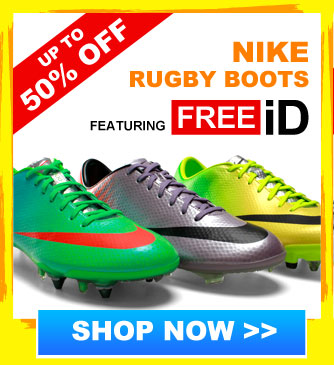 Up to 52% off Nike rugby boots