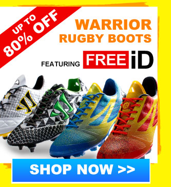 Up to 75% off Warrior rugby boots