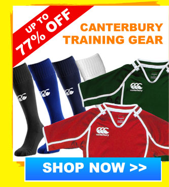 Up to 77% off Canterbury Training Gear