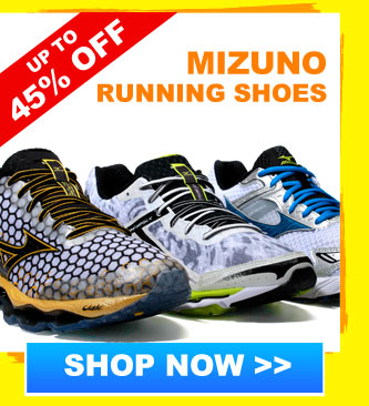 Up to 40% off Mizuno Trainers