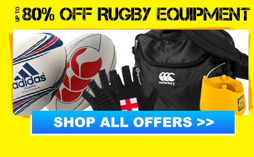 Up to 80% off Rugby Equipment
