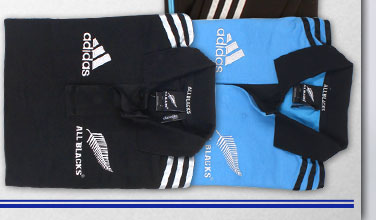 All Blacks 2013/14 Players Polo Shirts