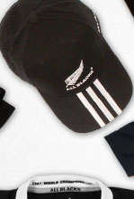 All Blacks 3 Stripe Rugby Cap