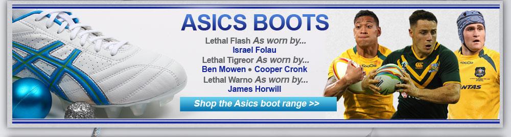 Asics Boot range