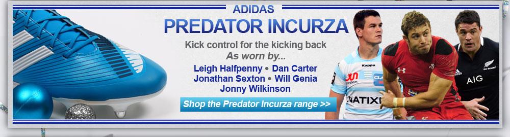 adidas Predator Incurza range