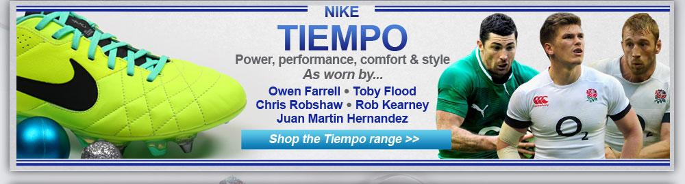 Nike Tiempo range