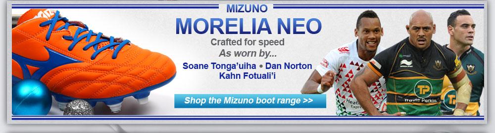 Mizuno Morelia Neo range
