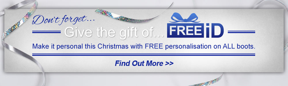 Give the gift of FREEiD with FREE personalisation on all boots
