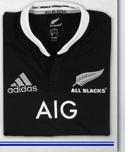 New Zealand All Blacks Home 2013/14 Rugby Shirt