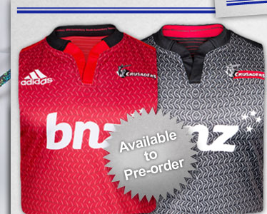 Canterbury Crusaders 2014 Home & Alternate Super 15 Shirts