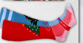 Wackysox Christmas Tree Rugby Socks