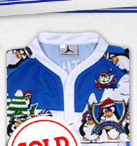 South Pole Peckers 2013/14 Home Rugby Shirt