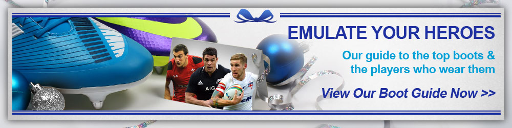 Emulate your heroes Rugby Boot Guide