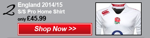 2- England 2014/15 Home Shirt - Shop now