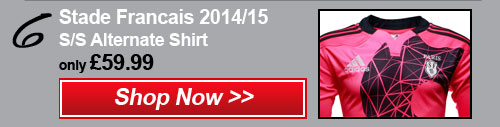 6- Stade Francais 2014/15 Alt shirt - Shop now