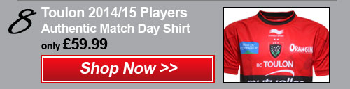8- Toulon 2014/15 Match day shirt - Shop now