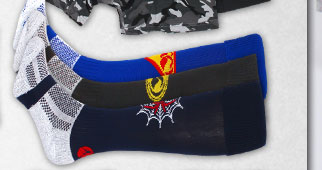 Uglies Superhero Triple Pack of Rugby Socks