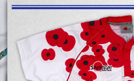 British Army Poppy Appeal Rugby Shirt