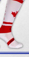 Wackysox Classic Canada Rugby Socks