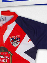 London Bull Dog 7s 2013 Home & Alternate Rugby Shirt