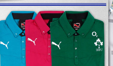 Ireland 2013/14 Rugby Polos