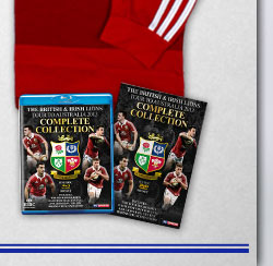 Lions Official Tour to Australia Complete Collection on DVD or Blu-ray