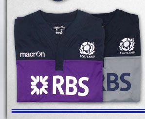 Scotland 2013/15 Training rugby Shirts