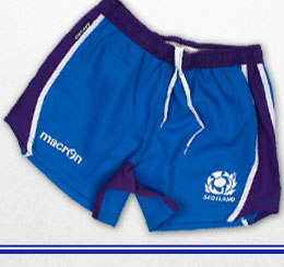 Scotland 2013/15 Players Alternate Rugby Shorts