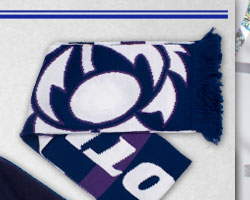 Scotland Supporters 2013/15 Double Layer Rugby Scarf