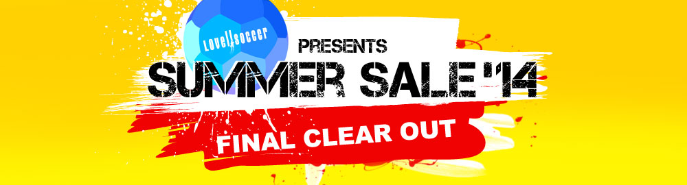 Lovell Soccer presents SUMMER SALE '14: Top Brands Reduced to Clear