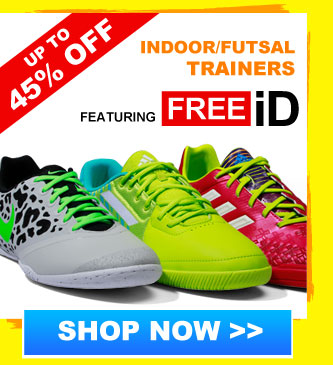 Up to 50% off Indoor/Futsal Trainers