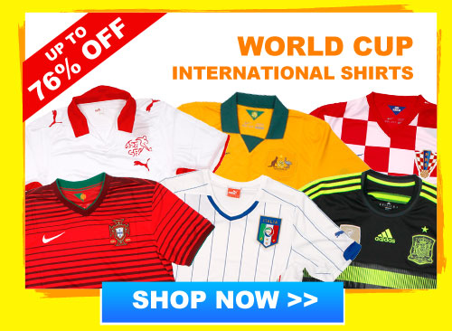 Up to 76% off International shirts