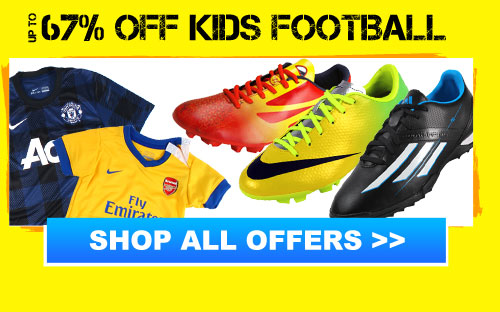 Up to 67% off Kids Football