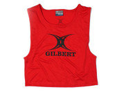 Polyester Rugby Training Bib s Red