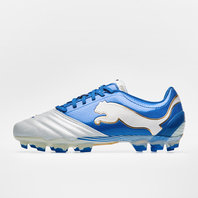 Puma Powercat C 1.12 FG Football Boots White/Blue/Gold