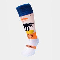 Wackysox Tequila Sunrise Rugby Socks