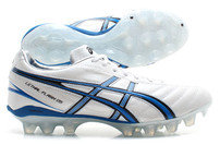 Asics Lethal Flash DS FG Rugby Boots White/Orion Blue/Black