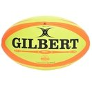 Gilbert Omega Match Rugby Ball Fluoro/Orange
