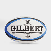 Gilbert Omega Match Rugby Ball Blue/Black